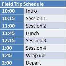 day schedule